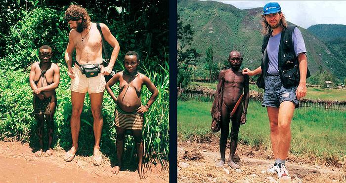 Mezi Pygmejkami, Kongo 1994 (Trpasličí kmeny koutů planety) Malý velký kamarád, NG 1996