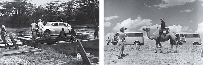 1. cesta – AFRIKA – AMERIKA s Tatrou T 87. 22. 4. 1947–1. 11. 1950. 2. cesta – ASIE se dvěma Tatrami 805. 22. 4. 1959–11. 11. 1964. Další šťastné přistání. Kongo. 27. 2. 1948 Velbloudí setkání na cestě. Kazachstán 5. 8. 1964