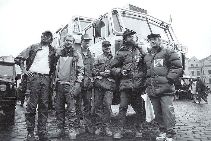 Návrat expedice na Staroměstské náměstí, 5. 12. 1994