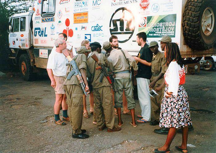 Do Kigali jsme přivezli zdravotnickou a potravinovou pomoc