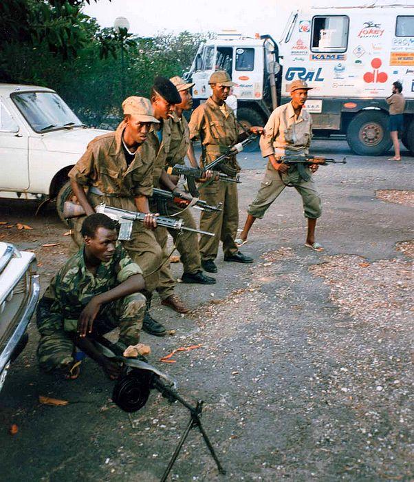 Válčící Kigali, Rwanda