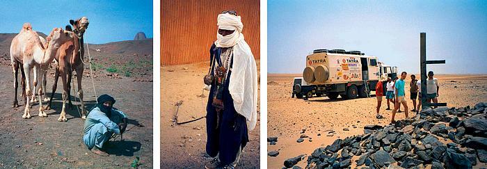 1. Spolehlivý koráb pouště 2. Bílá barva nejlépe odráží slunce 3. Hledání oázy